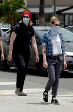 Kristen Stewart Out protesting in Hollywood