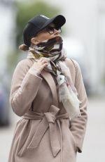 Kylie Minogue Out for a walk in Chelsea