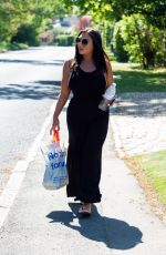 Lauren Goodger Shows off major sideboob as she heads to her local Tesco