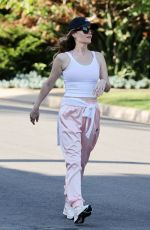 Leslie Mann Out for a walk in Pacific Palisades