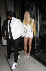 Lindsey Vonn Outside Catch in West Hollywood