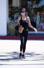 Lisa Rinna Shops at Beverly Glen in Beverly Hills