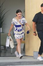 Lucy Hale At Sweet Flower in Studio City