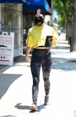 Lucy Hale Getting coffee in Los Angeles