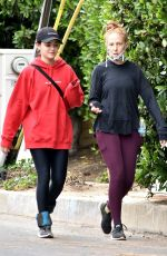 Lucy Hale Out with a friend in Studio City