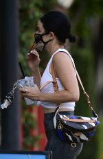 Lucy Hale Spotted heading to the gym in Los Angeles