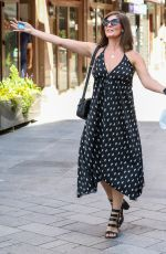 Lucy Horobin Seen Arriving At The Global Radio Studios In London