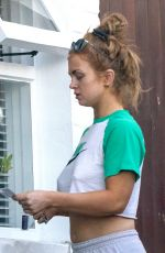 Maisie Smith Goes casual in Essex as she pops out post lockdown
