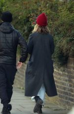 Matt Smith and Lily James are seen together for the first time