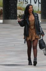 Maya Jama Leaves Sunday Brunch TV, London