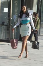 Maya Jama Seen Out in London