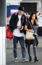 Megan Fox At LAX airport in Los Angeles