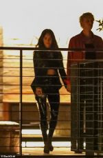 Megan Fox Out at dinner date in Malibu