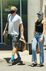 Miley Cyrus And boyfriend Cody Simpson grab groceries together in Calabasas