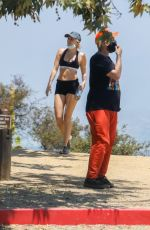 Miley Cyrus Out hiking in Los Angeles