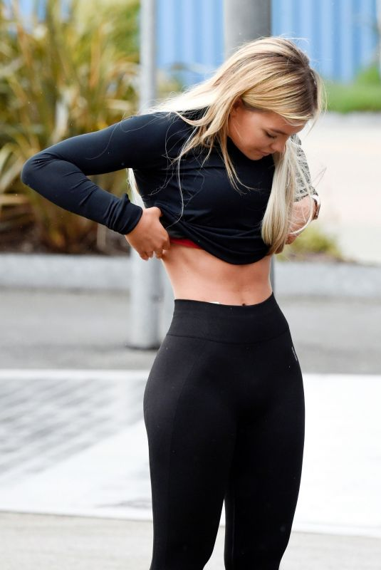 Molly Smith Out for a jog in Manchester