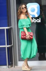 Myleene Klass Arrives at Smooth Radio in London