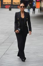 Myleene Klass Arriving at Global Studios in London