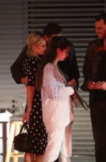Paris Hilton Out at dinner for the 1st time since the ReOpening of Restaurants as they leave Nobu Malibu without face masks