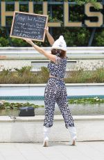 Phoebe Price Continues to protest in Beverly Hills