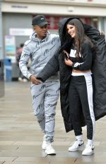 Rebecca Gormley and Biggs Chris are seen at Tesco in Newcastle