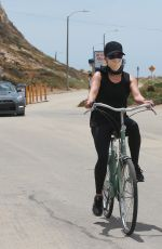 Reese Witherspoon On a bike ride at the beach in Malibu