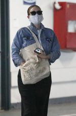 Rooney Mara Is not in the mood as she pays a visit to her doctor in Beverly Hills