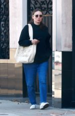 Rooney Mara Treats herself to a spa day in Los Angeles