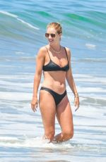 Rosie Huntington-Whiteley In bikini at the beach in Malibu