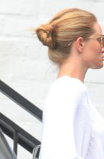 Rosie Huntington-Whiteley O&A in Beverly Hills