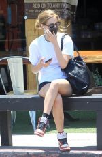 Samara Weaving Out in West Hollywood
