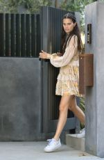 Sara Sampaio As she is seen leaving a friends house in Los Angeles