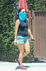 Sarah Shahi Goes for a walk in West Hollywood