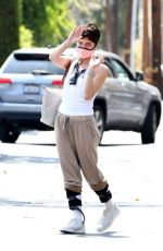 Selma Blair Has a Pep in her Step after lunch with Ron Carlson