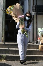 Shay Mitchell Stocks up on flowers in West Hollywood