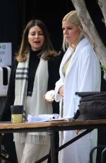 Sophie Monk On the Set of a Commercial in Sydney