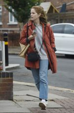Sophie Rundle Out and about shopping in London