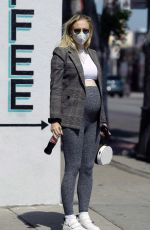Sophie Turner Out and about in LA