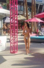 Tao Wickrath In Bikini at Flamingo Go Pool in Las Vegas