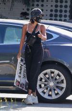 Vanessa Hudgens Out protesting in Los Angeles