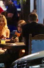 Victoria Justice Out to dinner in Studio City