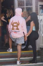 Addison Rae Holding hands with her boyfriend in Beverly Hills
