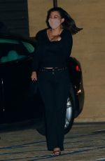 Addison Rae & Kourtney Kardashian Spotted leaving dinner at Nobu in Malibu