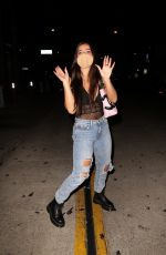 Addison Rae Leaving Catch LA in West Hollywood