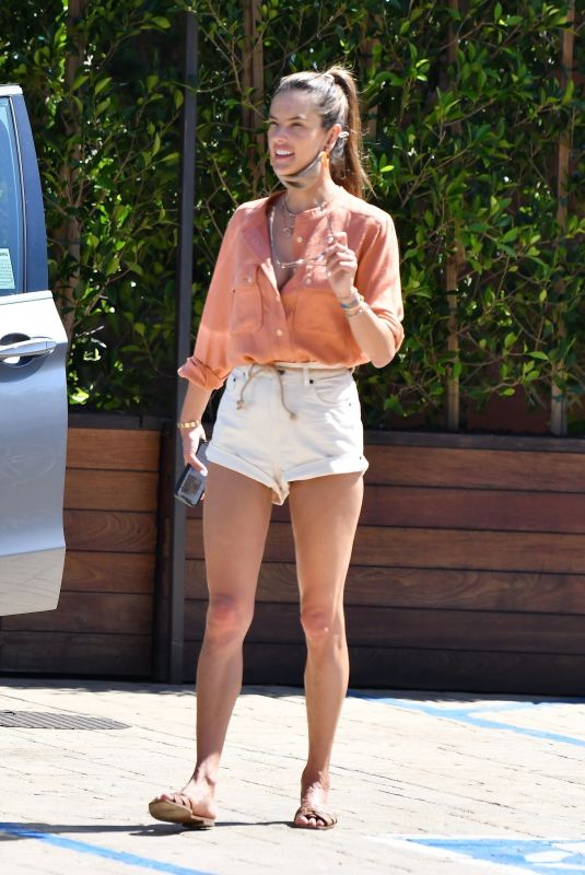 Alessandra Ambrosio Out at lunch in Los Angeles