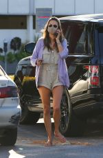 Alessandra Ambrosio Shopping at the Brentwood Country Mart