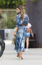 Alessandra Ambrosio Shopping with her daughter Anja after grabbing a bite in Los Angeles