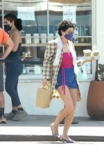Alia Shawkat Shows Off Her Unique Sense of Fashion as She Grabs Coffee in Los Angeles