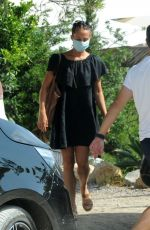Alicia Vikander With her husband and actor Michael Fassbender looked in great spirits on their Spanish getaway to Ibiza