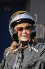 Amanda Holden Leaving Global Radio for the last time before her summer holidays in London